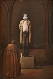 "F. Murray Abraham as Giordano Bruno #3* 16"" x 10.5"" 2011"