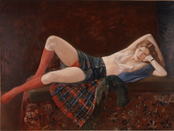 "Red Socks *  48"" x 72"" 1998"