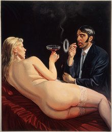 "Smoker *  50"" x 60"" 1991"