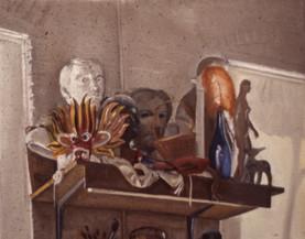 """Shelf  17"""" x 20.5"""" 1978"""