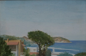 "Ischia View 8.5"" x 12"" 1996"