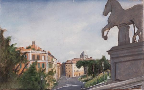 "Capitoline Hill 1 17"" x 26"" 1996"