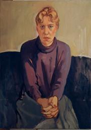 """Heidi  24"""" x 18"""" 1985"""
