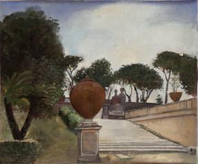 "Garden of The Doria Pamphili  8"" x 10"" 1996"