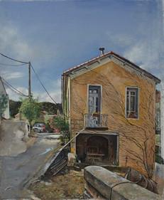 """House in La Voulte 18.5"""" x 15.5"""" 2010"""