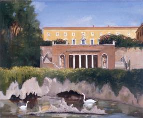 "Castelnuovo Berardenga  16"" x 20"" 1996"