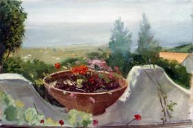 "Sicilian Flowers*  9"" x 12"" 1992"