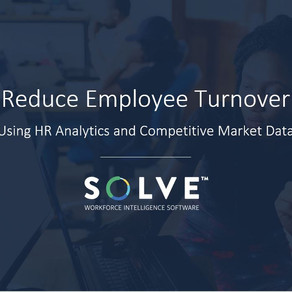 Using HR Analytics and Competitive Market Data to Reduce Employee Turnover