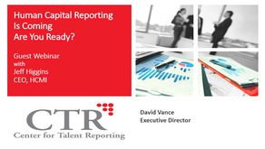 ISO Human Capital Reporting Standards Just Published – What Do You Need to Know?