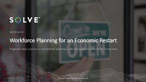 Workforce Planning for an Economic Restart