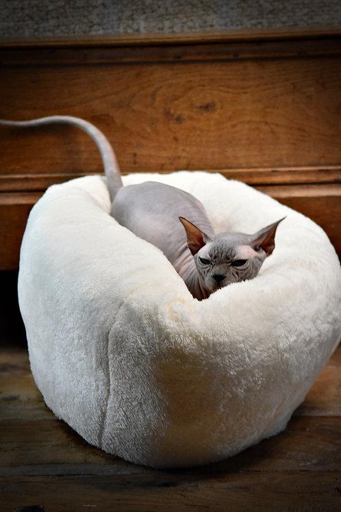 Coussin pouf pour chatons et chats