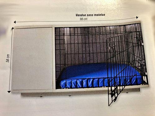 Cage d'intérieur et de sécurité pour chatons , chats et chiots