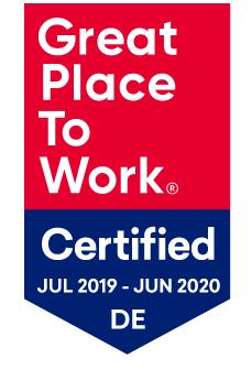 Auszeichnung: Great Place to Work