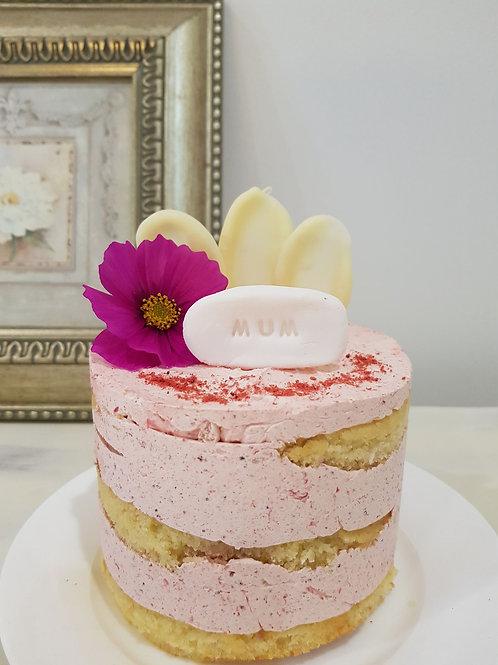 Vanilla Petite Cake & Posy Gift Pack