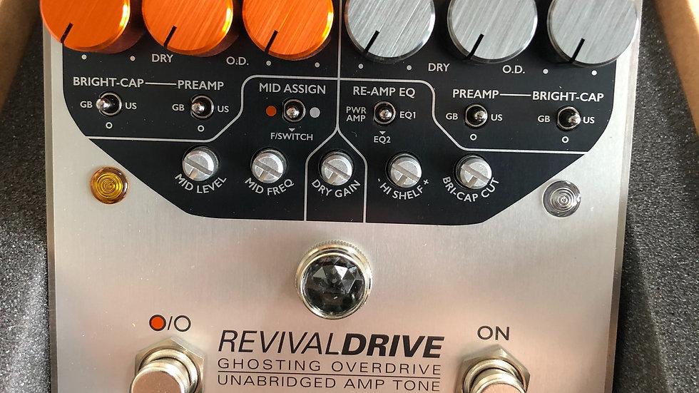 Origin Effect - Revival Custom overdrive & Midi controller