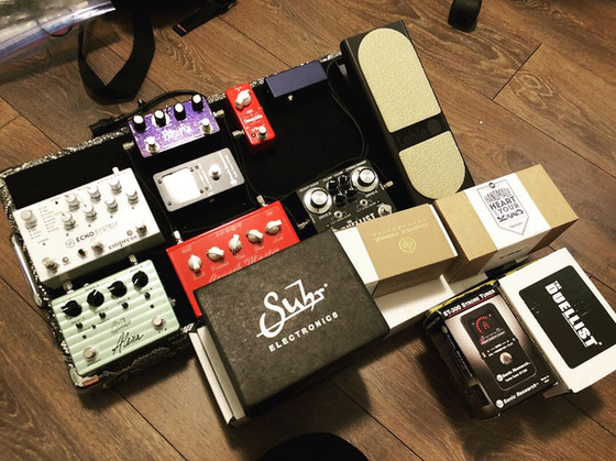 BoutiqueNané Custom ordered pedalboard