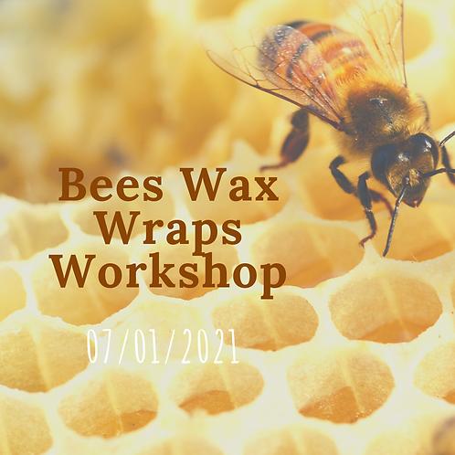Bees Wax Wraps Workshop 7th Jan 2021