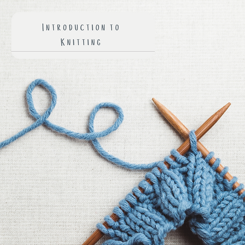 Introduction to Knitting 22nd January 2022
