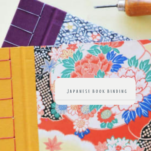 Japanese Book Binding Diary 8th January