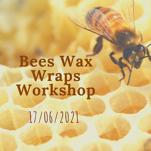 Bees Wax Wraps Workshop 17th June 2021