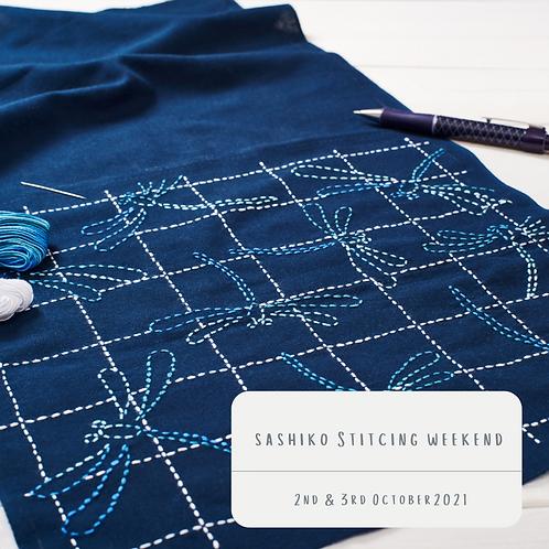 Sashiko Stitching Weekend 2nd & 3rd October