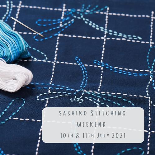 Sashiko Stitching Weekend