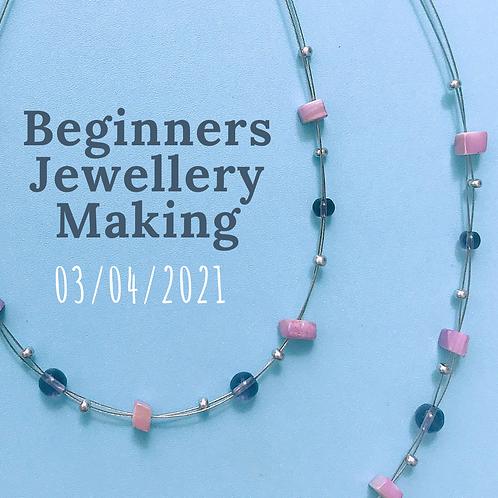 Beginners Jewellery Workshop 3rd April 2021