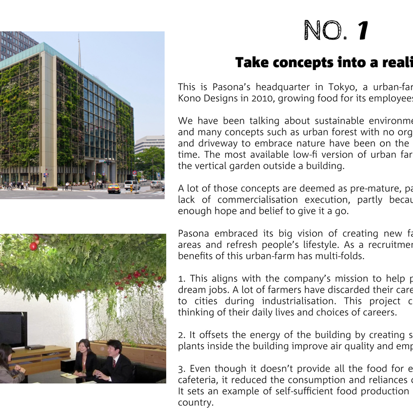11.1 innovative - pasona urban farm