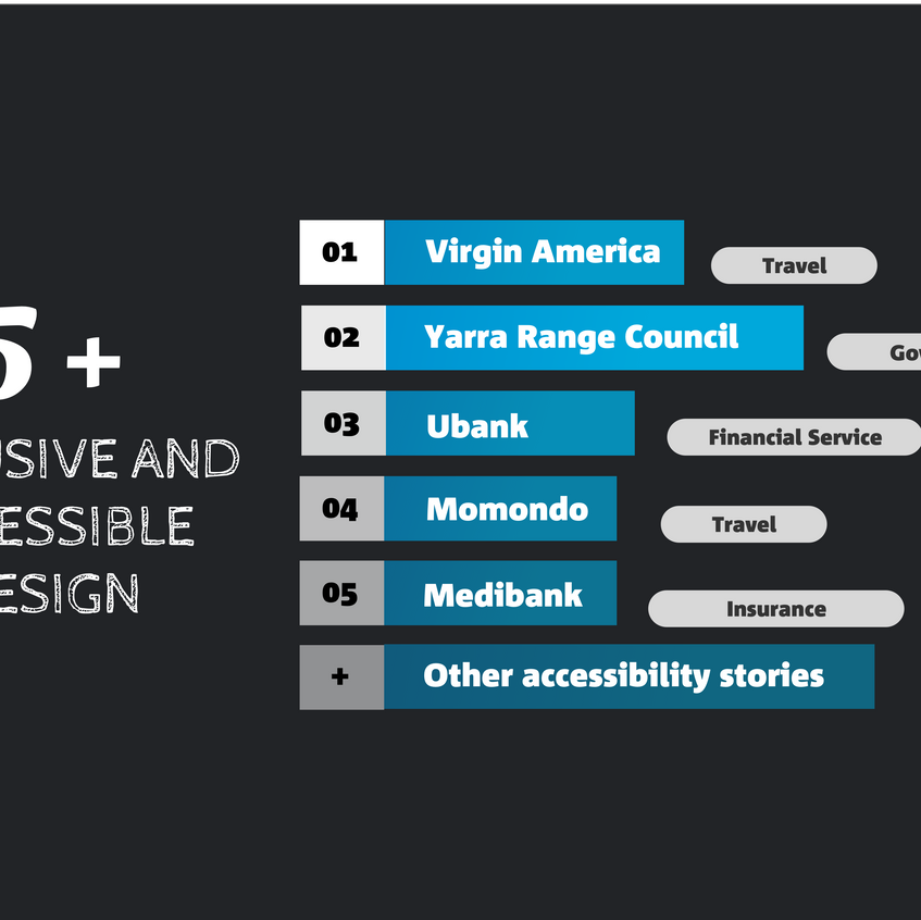 2. Inclusive and accessible design