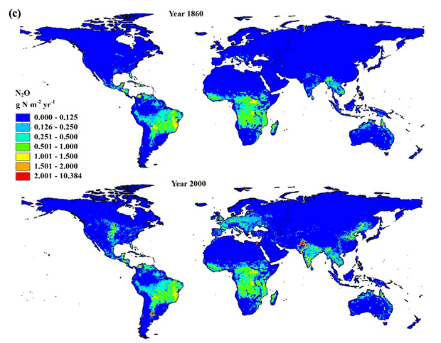 New Publication Maps Changes in Nitrogen Cycle Over Time