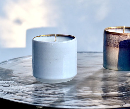 Small Candle- White