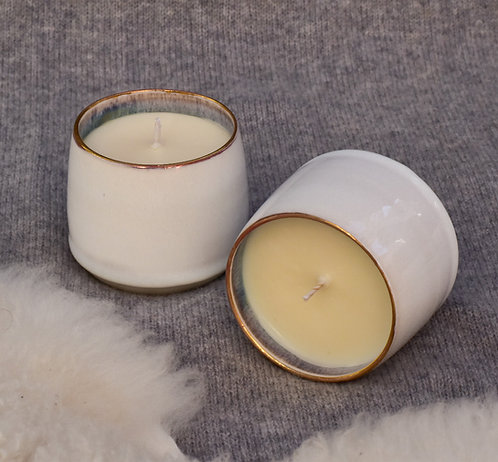 Straight Sided Porcelain Candle
