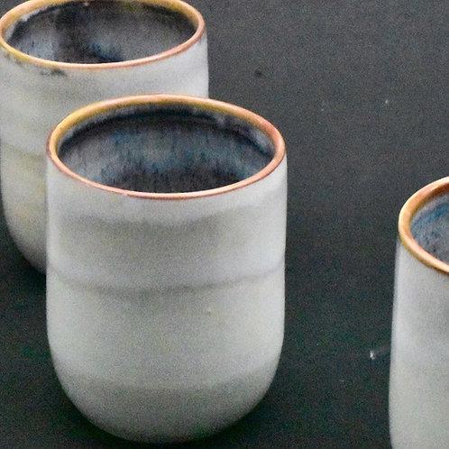 Tall White Porcelain Tumbler
