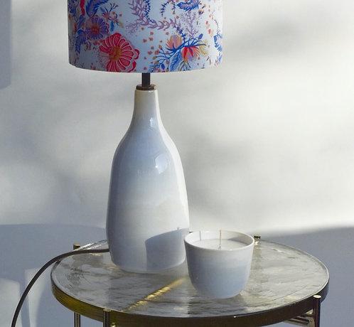 White Porcelain Lampbase