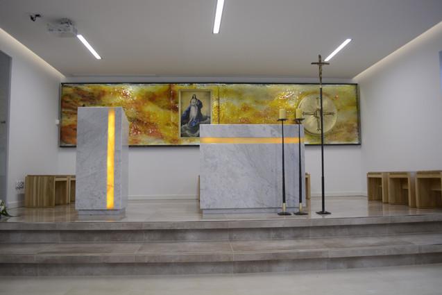 Wnętrze Kaplicy Krynica Morska