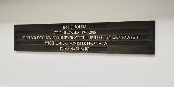 IN HONOREM ZYTA GILOWSKA