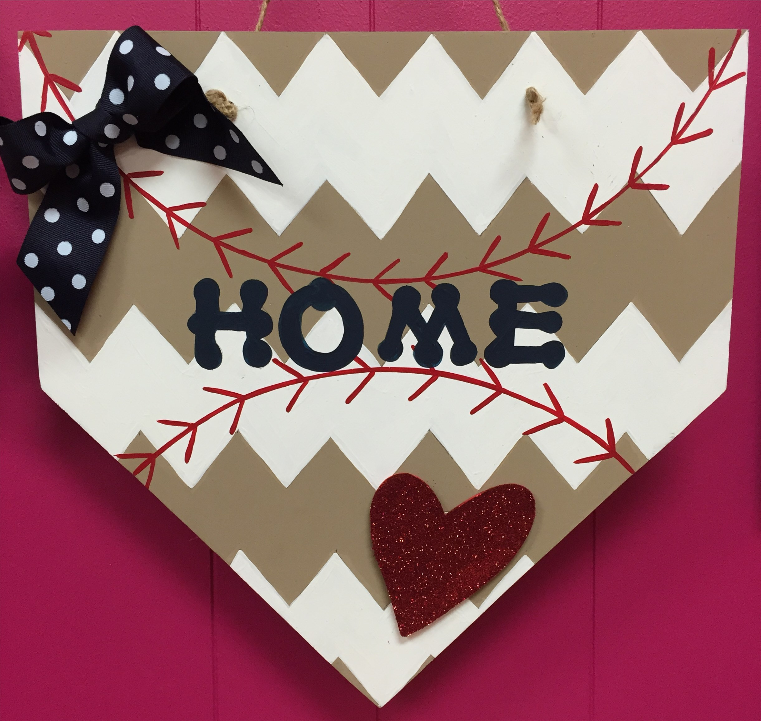 Wooden Home Plate