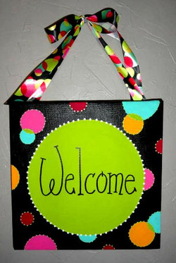 Polka Dot Welcome