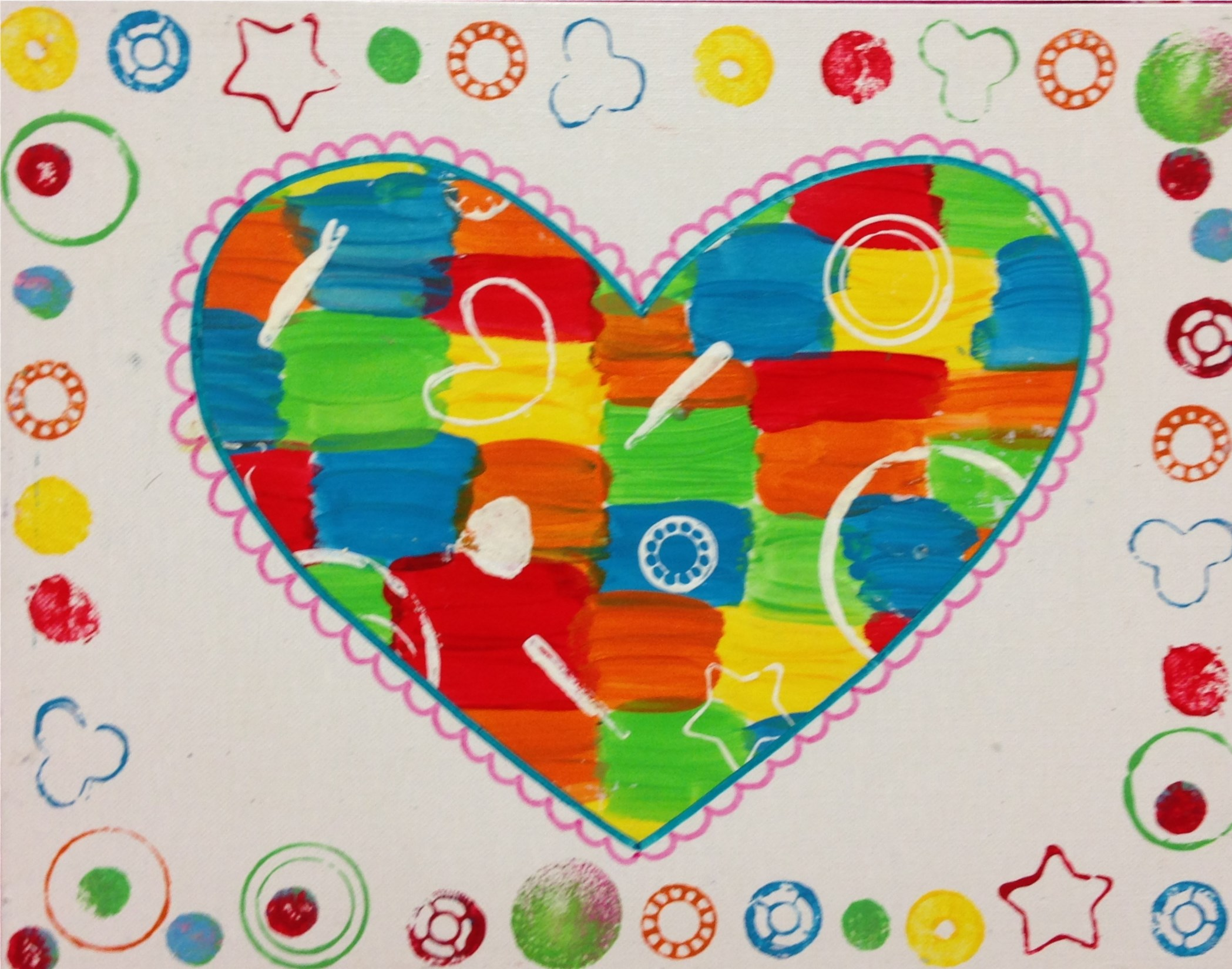 Gadget Printed Heart