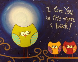To The Moon Owls