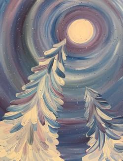 winter pines 2