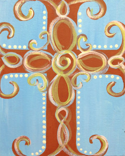 Swirly Cross