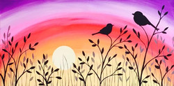 Sunrisse/Sunset Birds