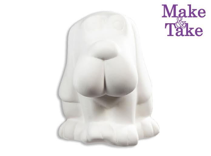 Ceramic Bassett Hound