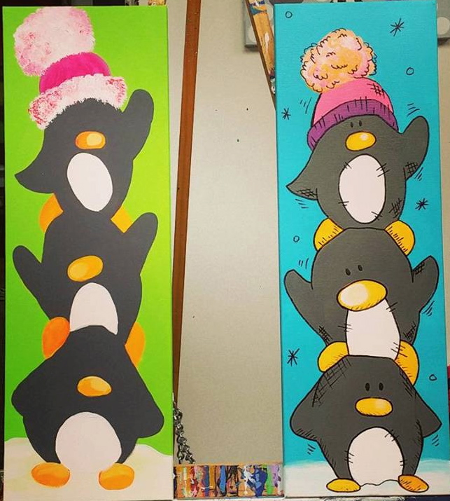 Stacked Penguins
