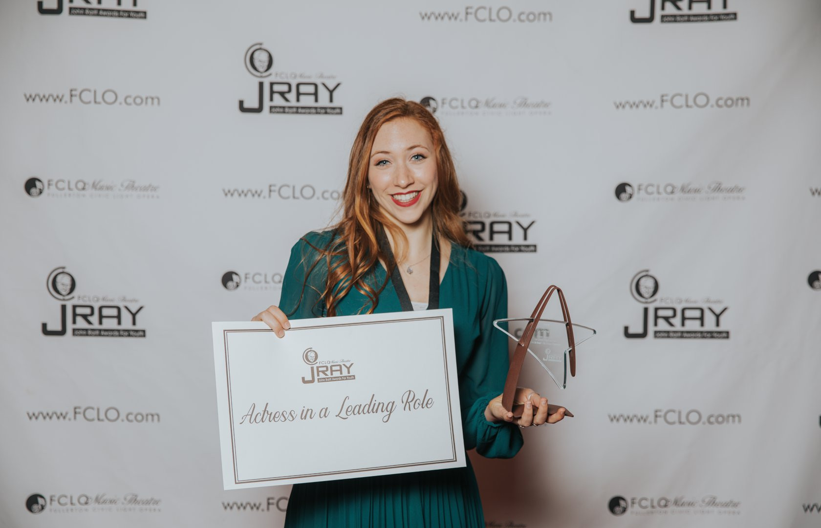A (Clearly) Surprised JRAY Winner