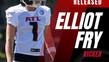 Kicker Elliot Fry entlassen