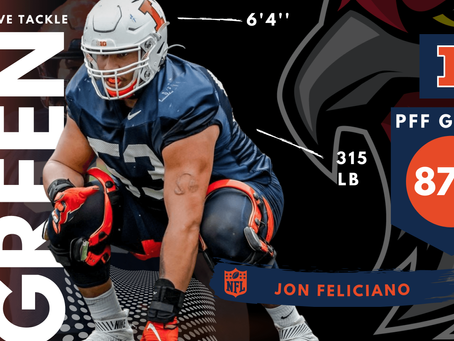 Kendrick Green - Offensive Guard Illinois
