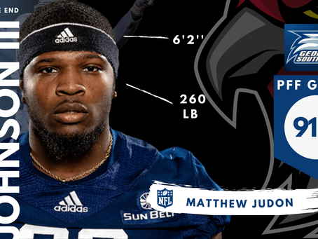 Raymond Johnson III - Defensive End Georgia Southern