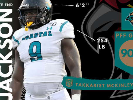 Tarron Jackson - Defensive End Coastal Carolina